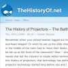 #156 :: The History of Projectors